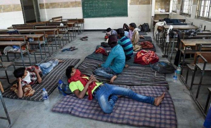 Coronavirus, Migrant workers, Relief camps