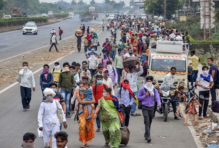 Surat, migrant labourers, migrant workers, Gujarat, coronavirus, COVID-19, Lockdown