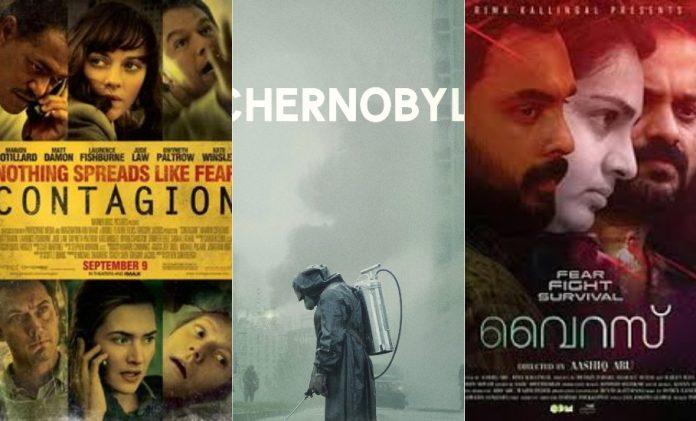 pandemic, movies, coronavirus, COVID-19, Contagion, The Virus, Chernobyl, Netflix, web series