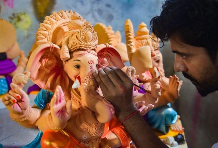 Ganesh idols, plaster of paris, Maharashtra, manufacturing hub, coronavirus, COVID-19, Lockdown