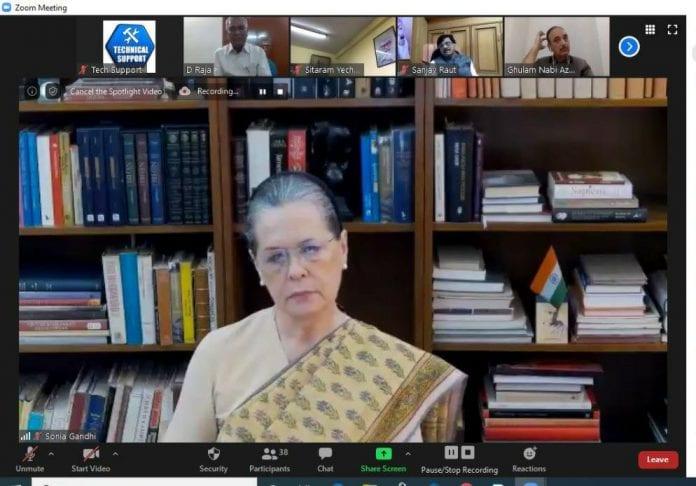 Congress President Sonia Gandhi, Prime Minister Narendra Modi, economic stimulus package, Lockdown, coronavirus, COVID-19