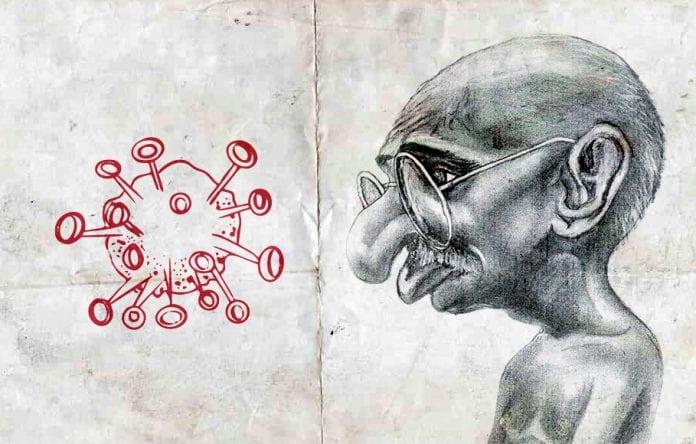 Gandhiji, coronavirus