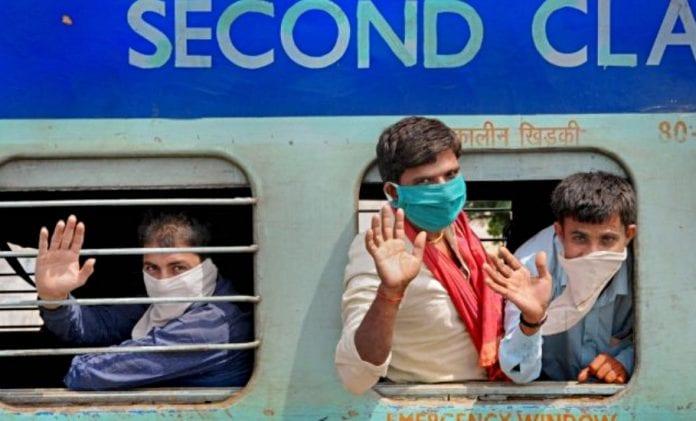 Migrant train Shramik Special