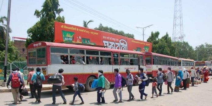 stranded migrants, migrant workers, Lockdown, coronavirus, COVID-19, Uttar Pradesh