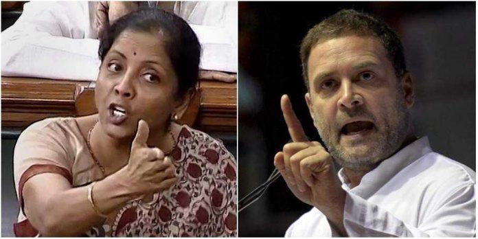 Rahul Gandhi, Nirmala Sitharaman, Congress, migrant workers, Lockdown, coronavirus, COVID-19