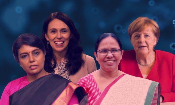 Shailaja Teacher, Beela Rajesh, Angela Merkel, Jacinda Ardern