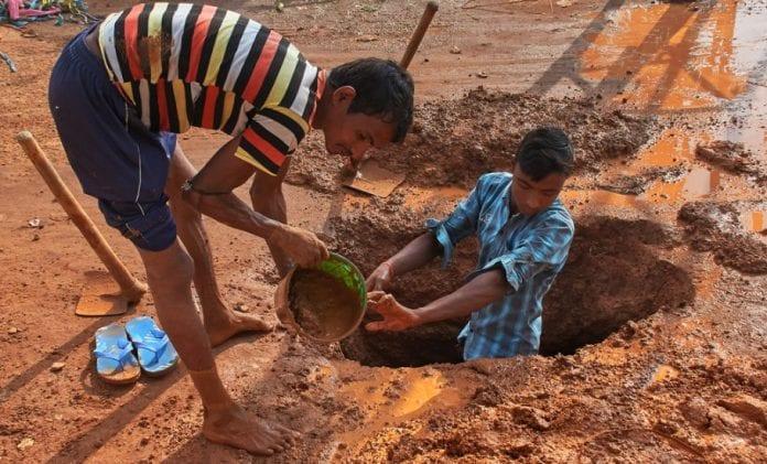 MGNREGA workers
