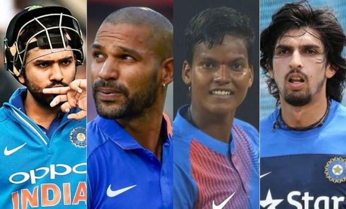 BCCI, Rajiv Gandhi Khel Ratna Award, Arjuna Award, Rohit Sharma, Shikhar Dhawan, Ishant Sharma, Deepti Sharma