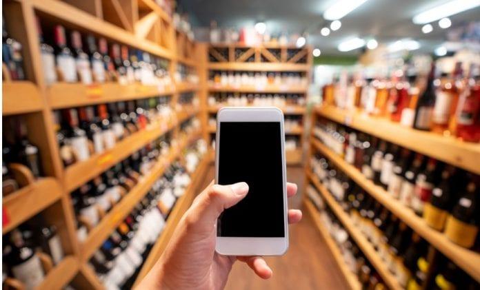 Online liquor sale