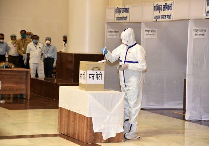 Rajya Sabha, Rajya Sabha polls, Madhya Pradesh, BJP, Congress, coronavirus, COVID-19