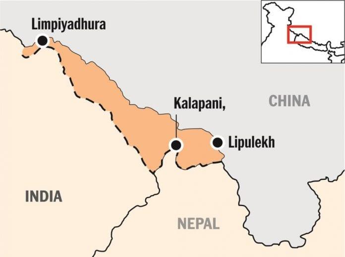 India, Nepal, neighbourhood first, Lipulekh, Kalapani, Limpiyadhura, new map