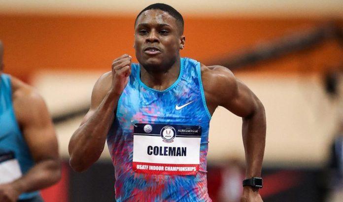 athletics, Christian Coleman, world champion, doping
