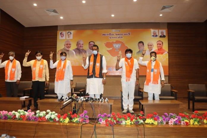 Gujarat, resort politics, Congress, BJP, Brijesh Merja, Jitu Chaudhary, MLAs, Rajya Sabha polls