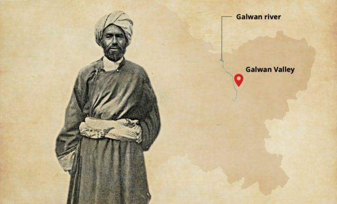 Galwan, Ghulam Rasool, Valley