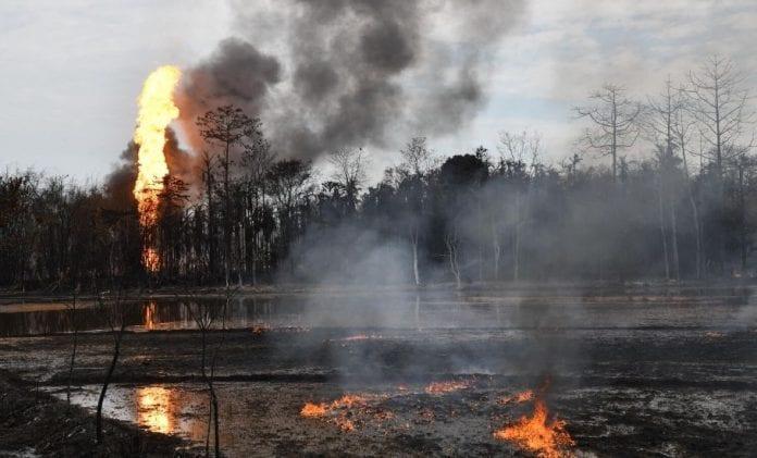 Baghjan oil well fire