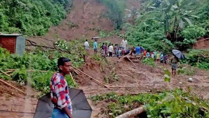 landslides, south assam, Barak valley, Hailakandi, Cachar, Karimganj, heavy rains