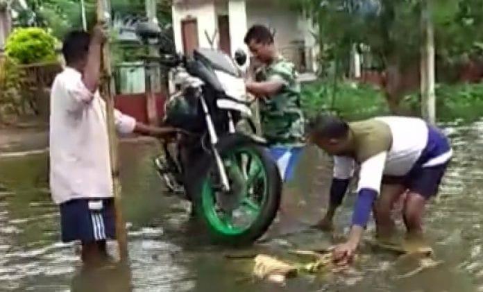 Assam, Guwahati, floods, landslide, Amit Shah, mass evacuation, disaster management