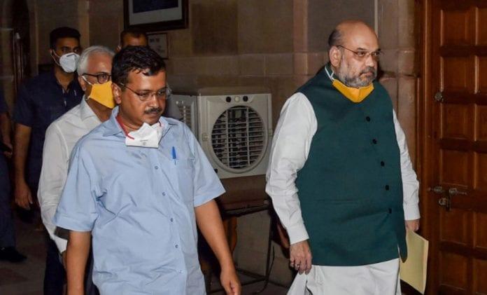 Kejriwal and Shah