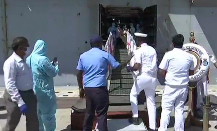 INS Jalashwa, Sri Lanka, Vande Bharat Mission, Operation Samudra Setu, stranded migrants, coronavirus, COVID-19, Lockdown