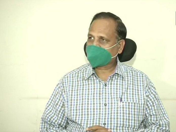 Satyendar Jain, Delhi, Health Minister, coronavirus, COVID-19, plasma therapy