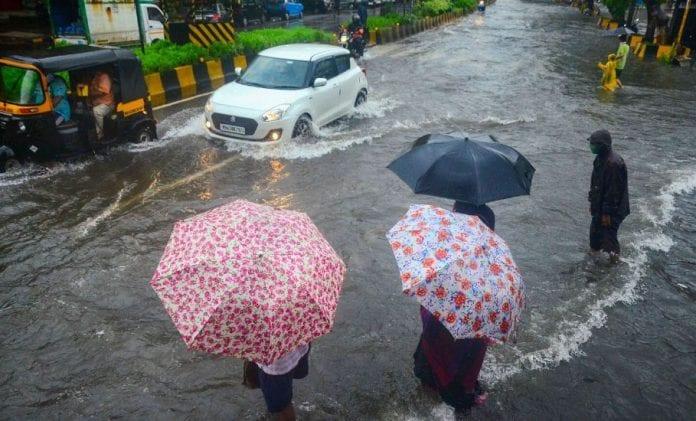 Navi Mumbai rain