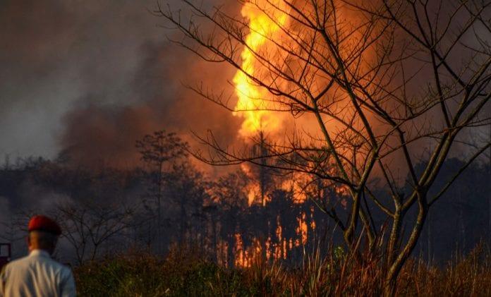 Assam oil field fire, Baghjan, OIL