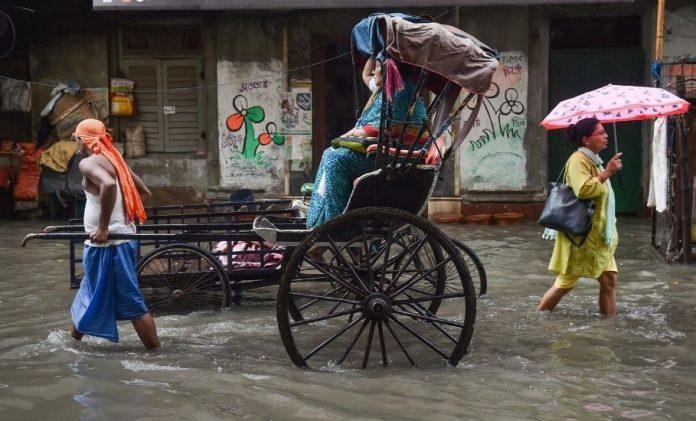 Kolkata waterlogging