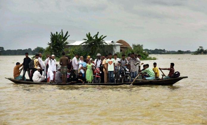 Assam floods, Brahmaputra