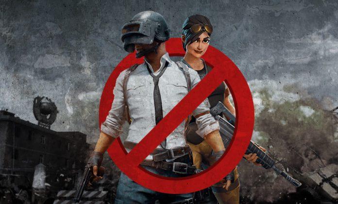 Online games, ban, PUBG