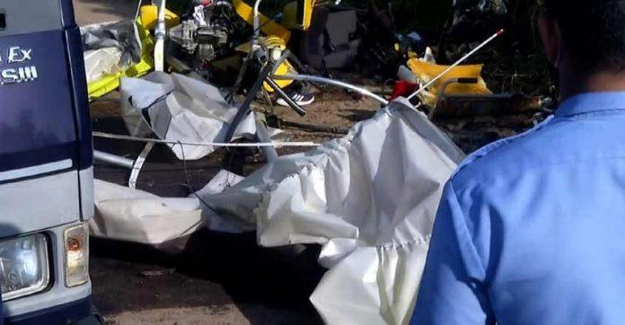 Navy glider crash