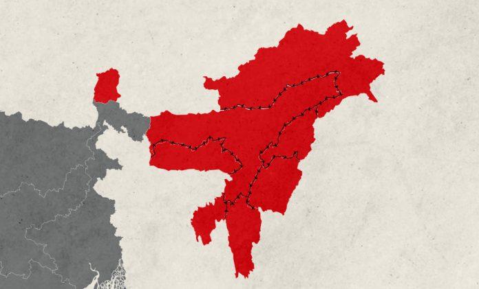 Northeast, Assam, Mizoram, Nagaland, Tripura