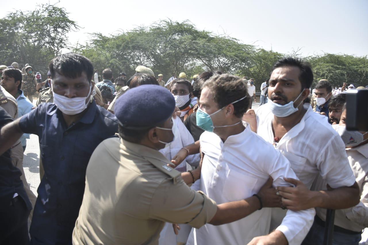 Rahul Gandhi, Hathras