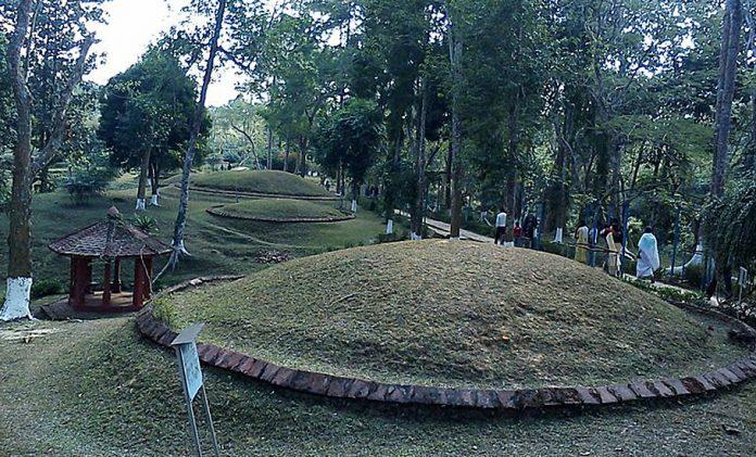 Maidam, Ahom, Assam
