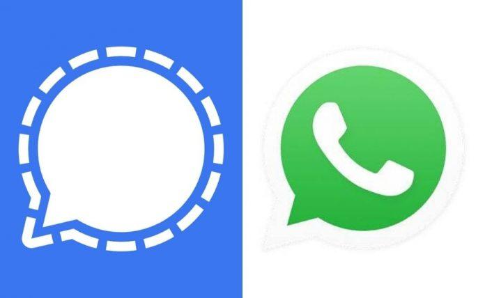 Signal and WhatsApp