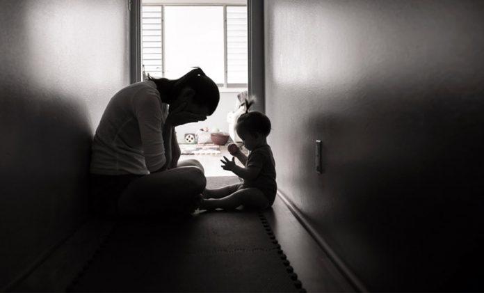 Postpartum depression, mother, baby