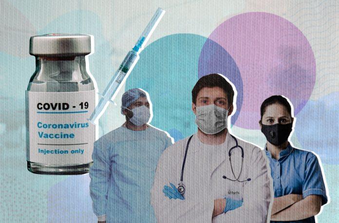Vaccine, Frontline workers, health workers