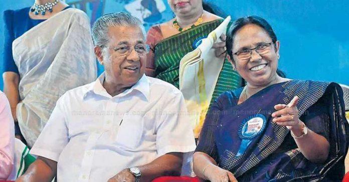 Pinarayi Shailaja