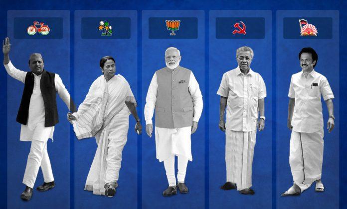 Regional parties, Trinamool Congress, Mamata Banerjee,