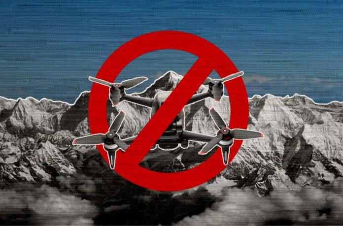 Drone ban, Kashmir