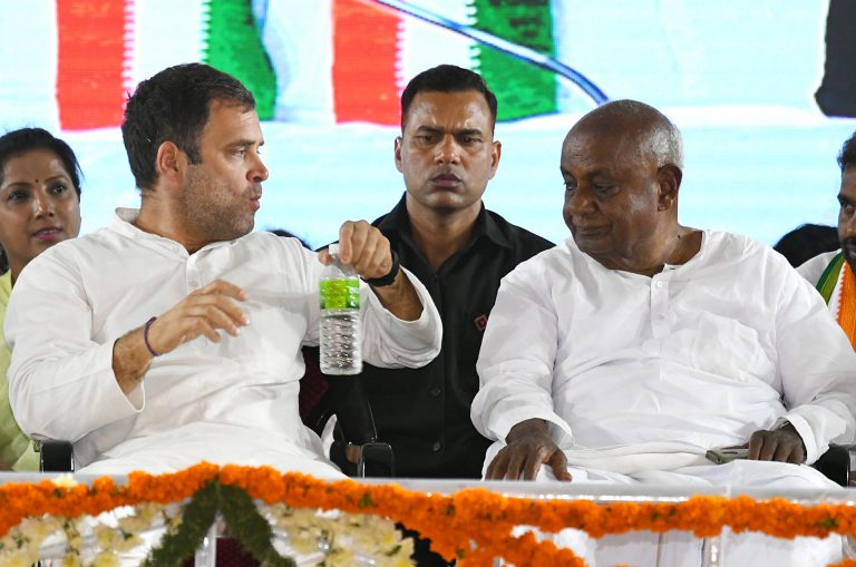 Queries galore over Cong-JD(S) alliance as exit polls favour BJP in K'taka