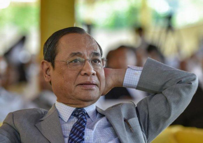 Former Chief Justice of India Ranjan Gogoi