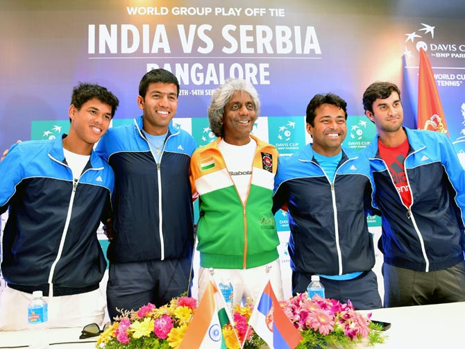 India - Pakistan davis Cup ties -The Federal.