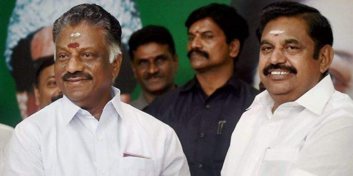 O Panneerselvam with Edappadi K Palaniswami - The Federal