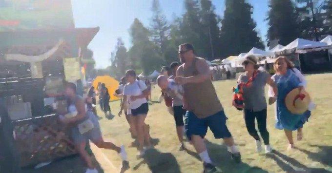 five shot, garlic festival, California, The Federal, English news website