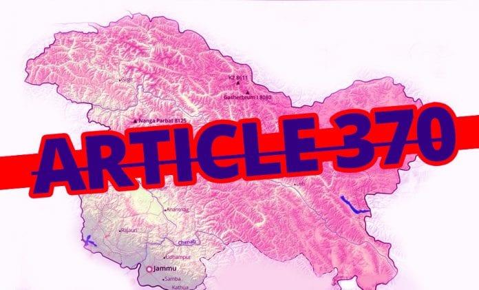 Article 370, Jammu and Kashmir, bifurcation, US, Rajya Sabha, The Federal, English news website