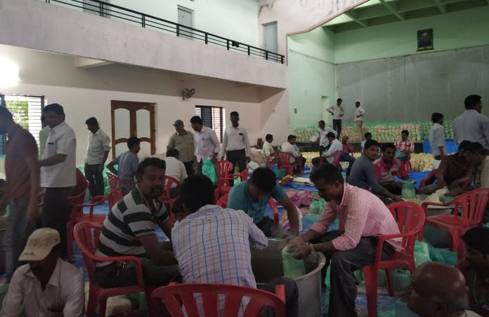 Karnataka flood Belagavi Examba relief camp - The Federal