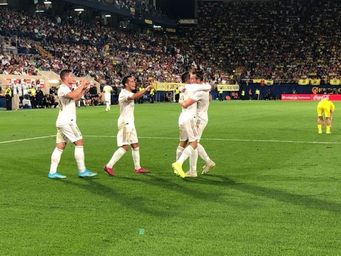 Gareth Bale, Villarreal, Real Madrid, La Liga, two yellow cars, Zinedine Zidane, Gerard Moreno, Football