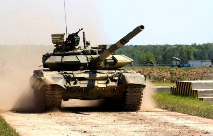 Bhisma, battle tank, firearm, fire gun