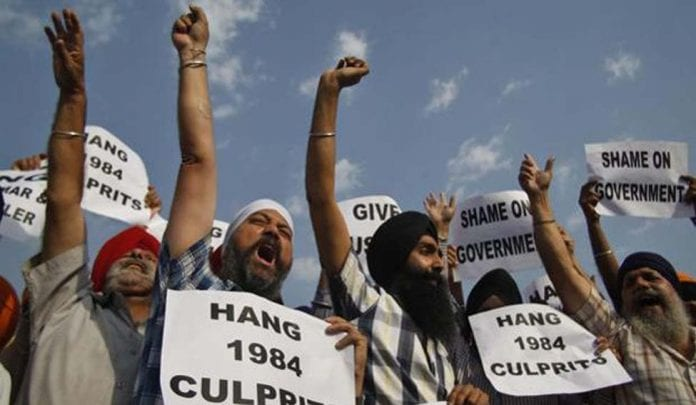 anti-Sikh riots, 1984 riots, Indira Gandhi