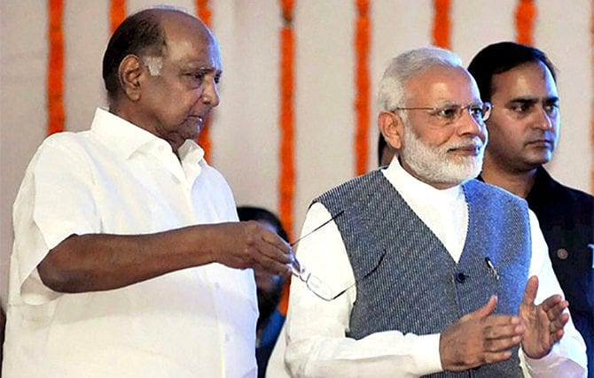 Pawar and Modi